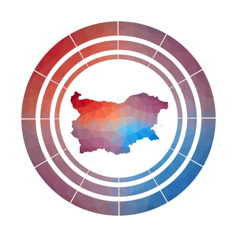 Bułgaria odznaka ilustracji