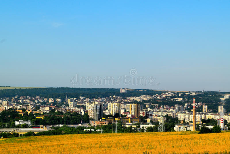 Bułgaria, Pleven, relaksuje, piękno, historia, miasteczko fotografia stock