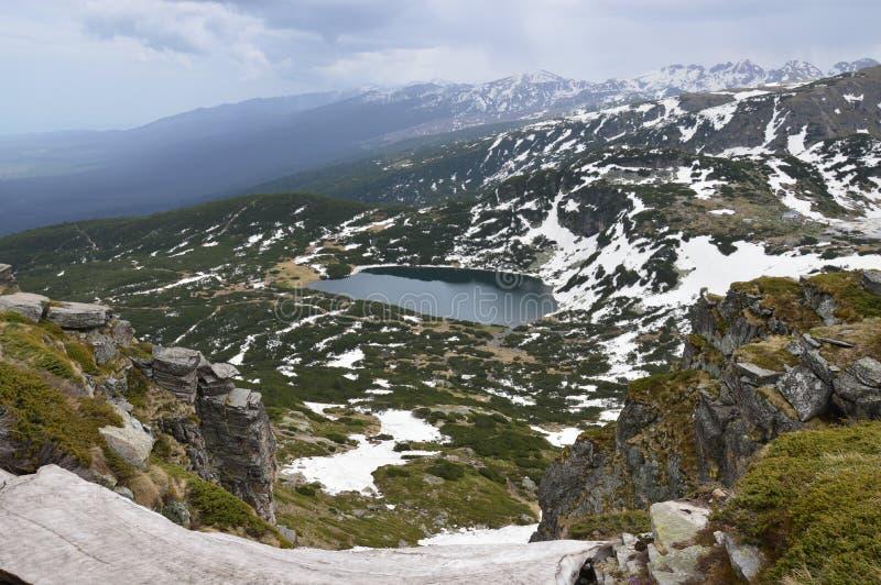 Bułgaria Rila - siedem jezior obrazy royalty free