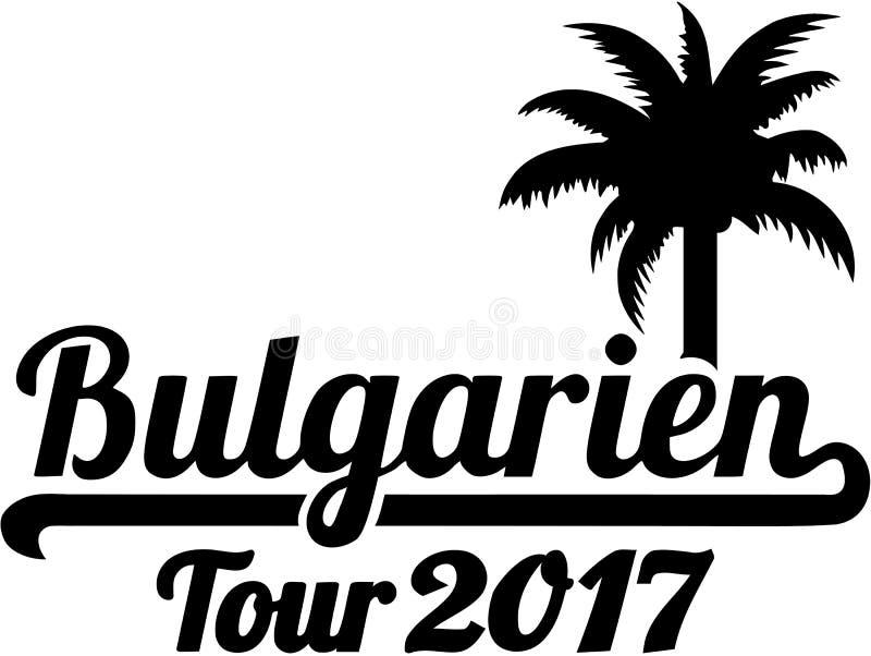Bułgaria wycieczka turysyczna 2017 - niemiec royalty ilustracja