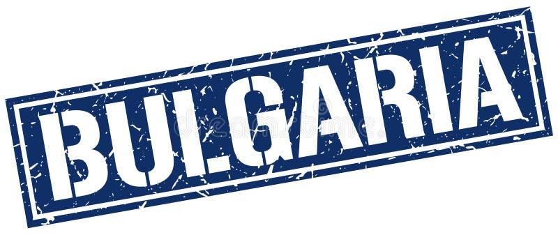 Bułgaria znaczek ilustracja wektor