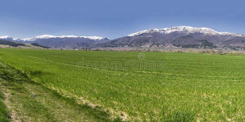 Bułgarska góry panorama obrazy royalty free