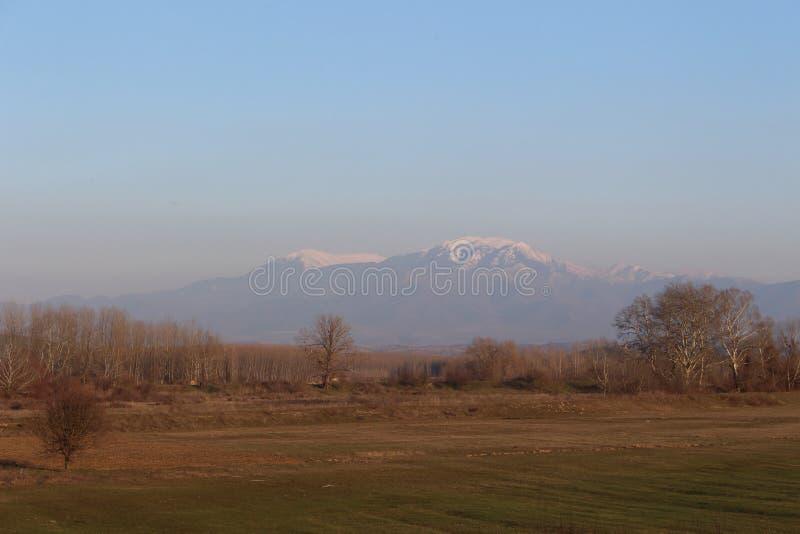 Bułgarska natury fotografia od Rupite terenu - Luty obraz royalty free