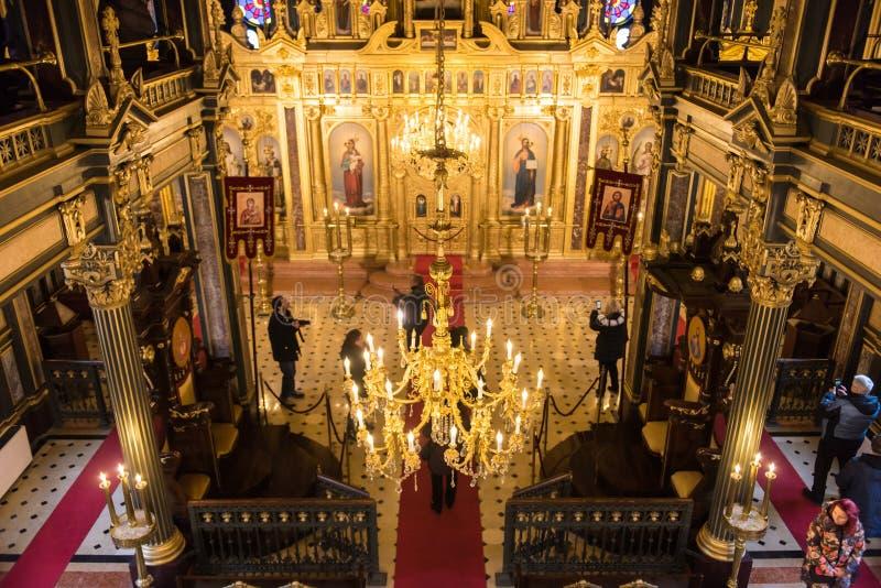 Bułgarski Świątobliwy Stephen kościół w Istanbuł, Turkeyt zdjęcia stock