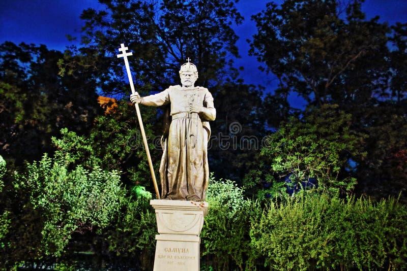 Bułgarski królewiątko zabytek Sofia obraz stock