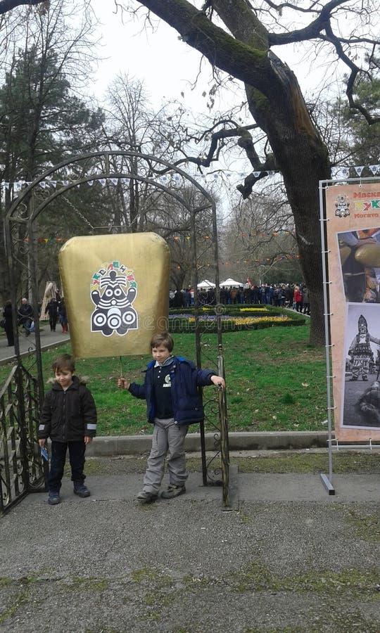 Bułgarski kukerland obraz royalty free