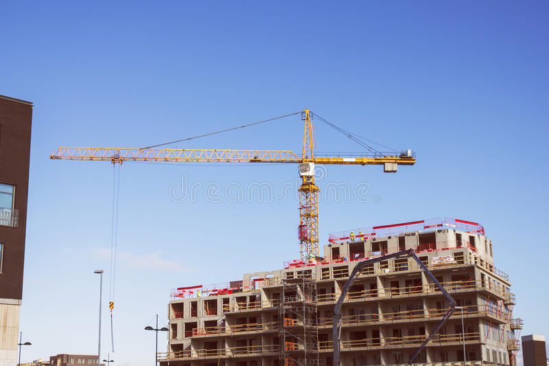 bu construction residential royaltyfri foto