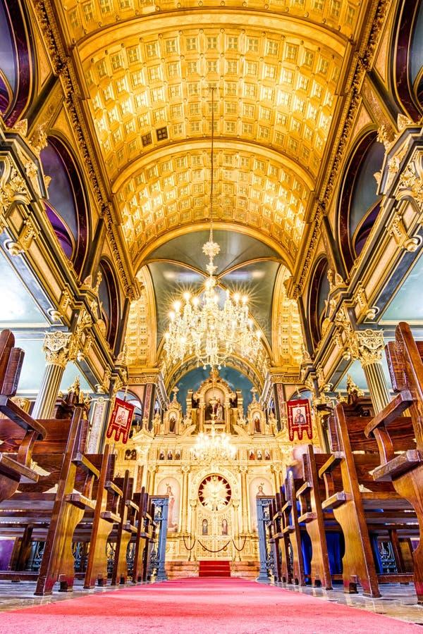 Bu?garski St Stephen ko?ci?? w Istanbu?, Turcja obraz royalty free