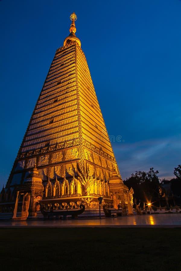 Bua del nhong di Prathat, Ubonratchathani, Tailandia fotografia stock