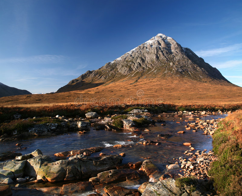 Download The buachaille stock image. Image of mountain, britain - 8725597
