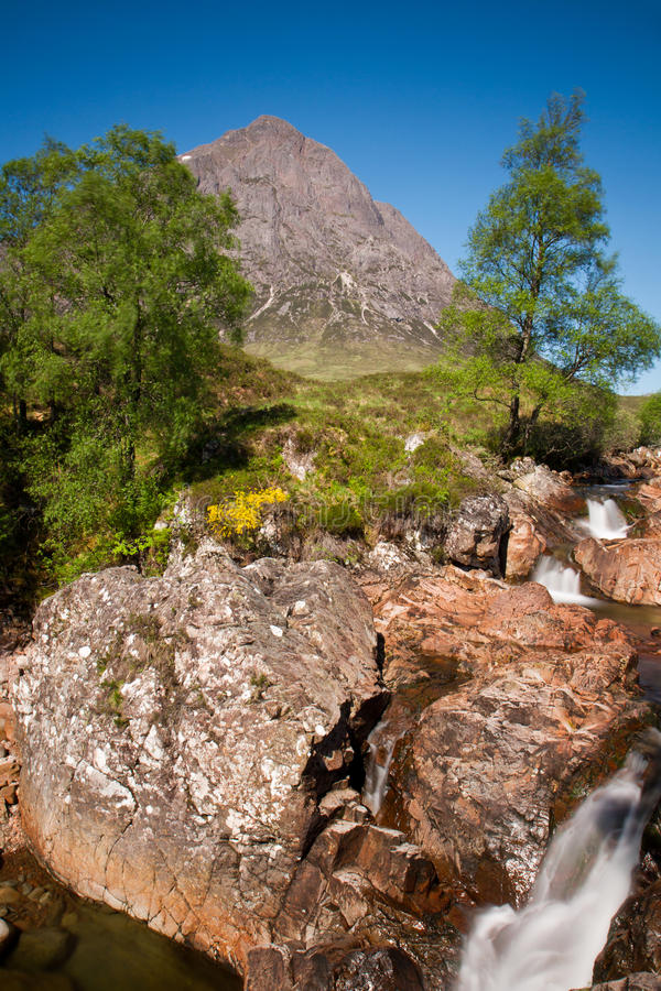 Download Buachaille Etive Mor In The Glencoe Valley Stock Photo - Image: 25753564
