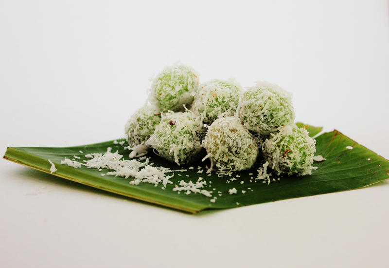 Buah Melaka, Malesia ha prodotto la pasticceria fotografia stock