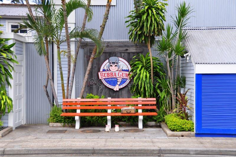 Bubba Gump, Lahaina, Maui fotos de archivo libres de regalías