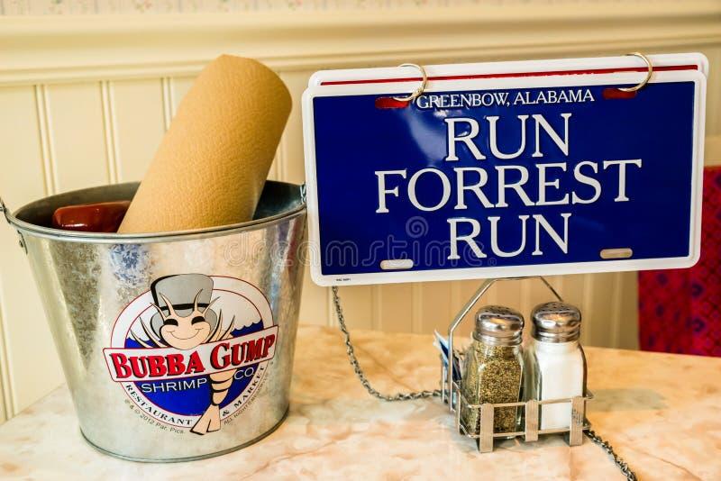 Bubba Gump Shrimp Company royalty-vrije stock fotografie