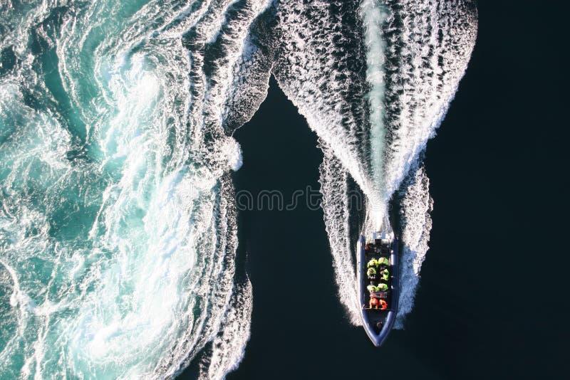 Bubbelpoolfartyg arkivbilder