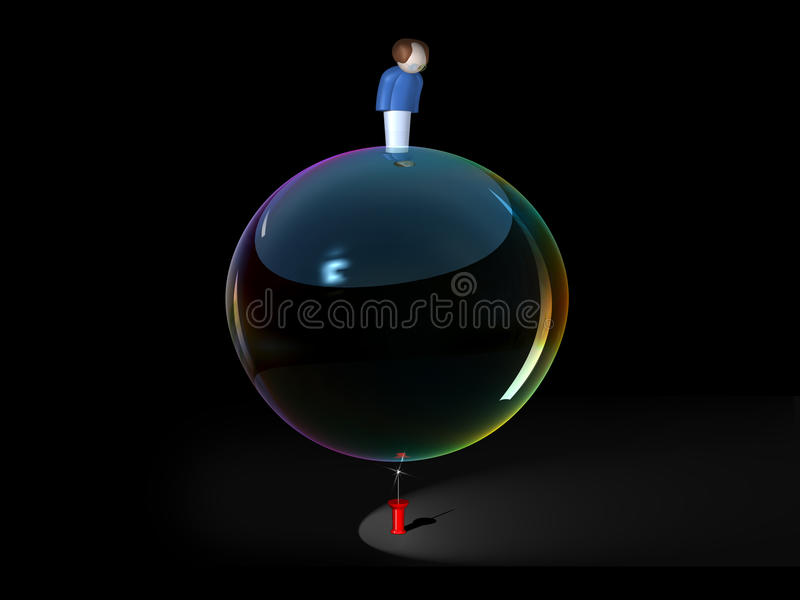 bubbla vektor illustrationer