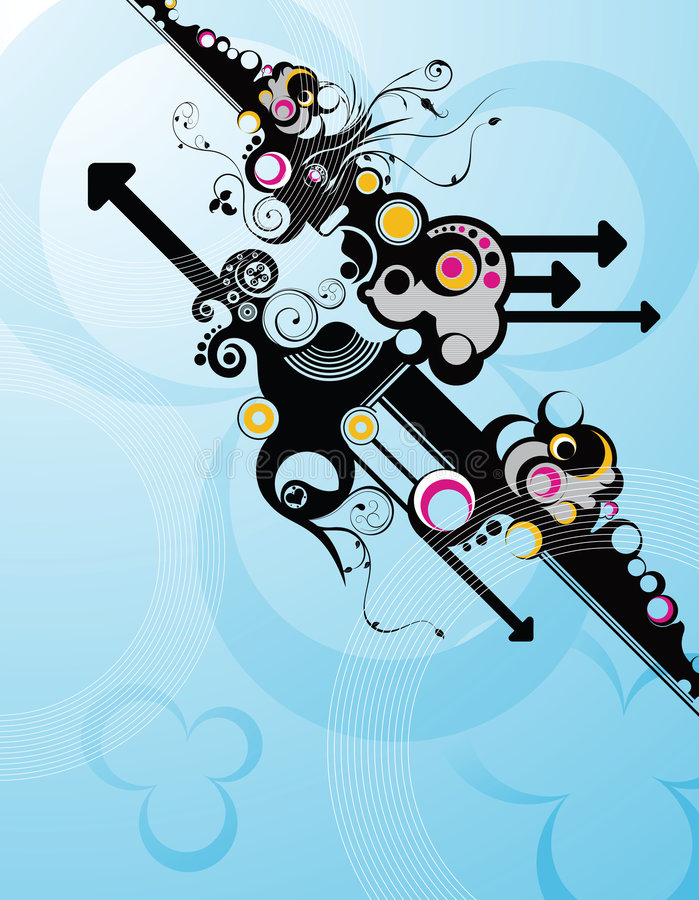bubbla royaltyfri illustrationer