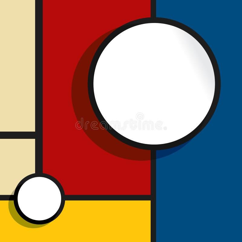 Bubbla för rengöringsdukdesign vektor illustrationer