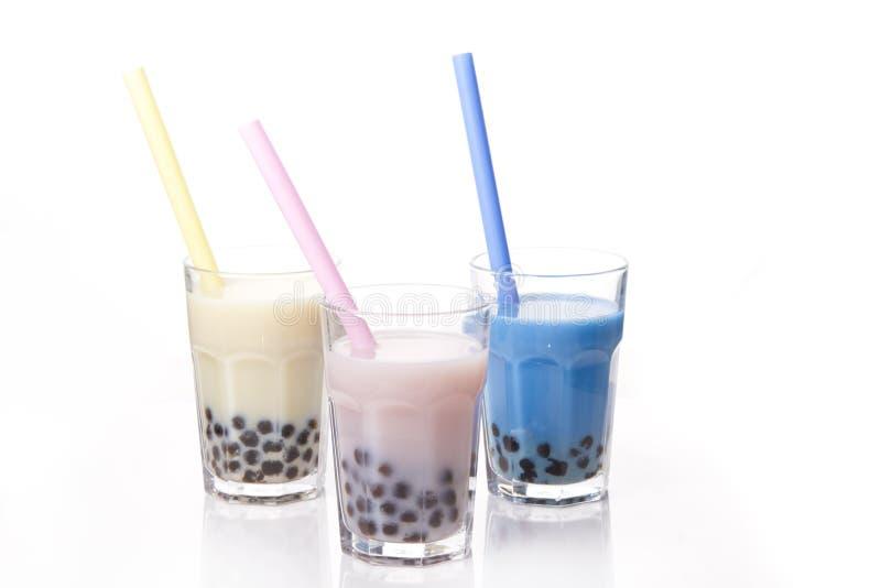 Bubbla tea royaltyfri bild