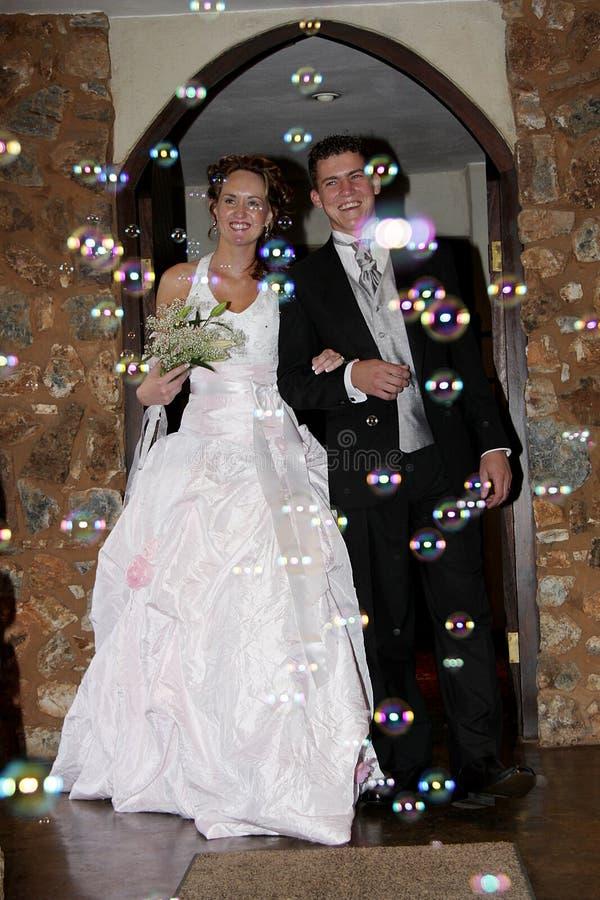 bubblaförälskelse royaltyfria bilder