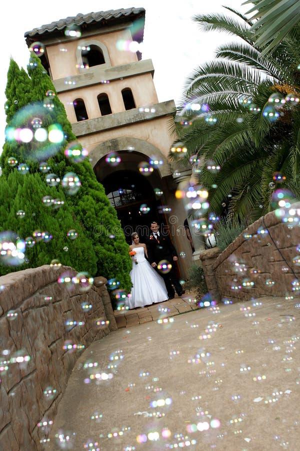 bubblaförälskelse arkivbilder