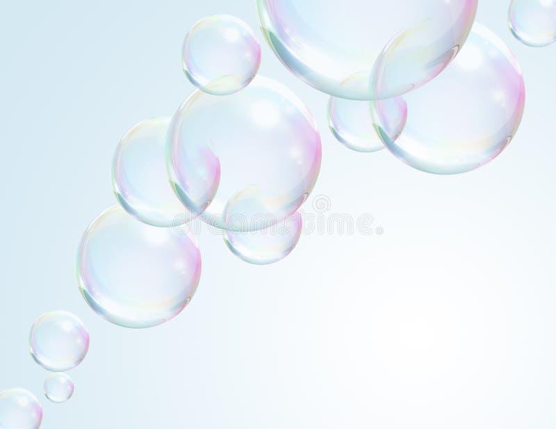 bubblaflottörhus stock illustrationer