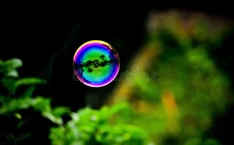 Bubblamaterielfoto fotografering för bildbyråer