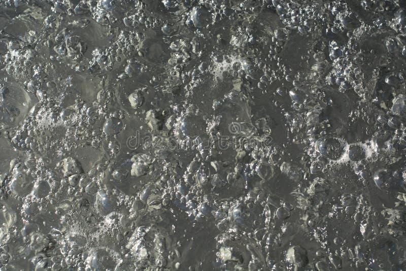 Bubblar bevattnar in royaltyfri foto