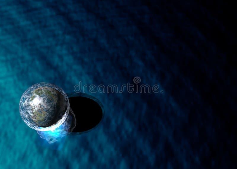 bubblasphere royaltyfria bilder