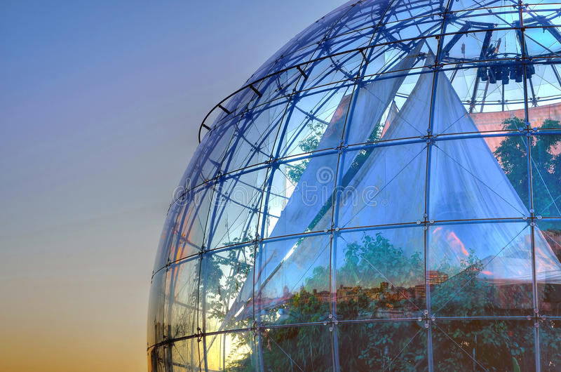 The bubble (biosphere) by Renzo royalty free stock photo
