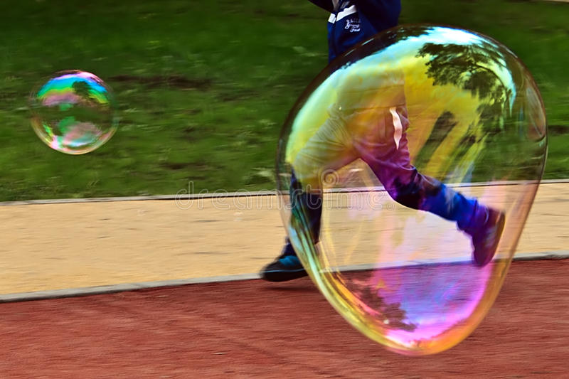 Bubble blower 4 royalty free stock images