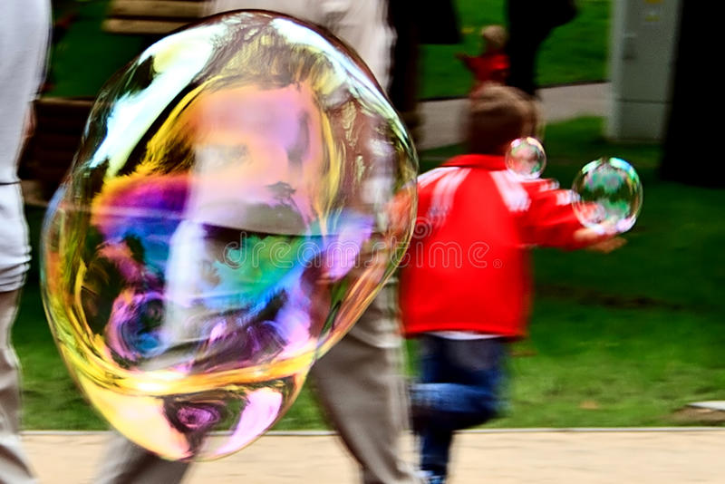 Download Bubble blower 7 stock photo. Image of magic, floating - 39514228