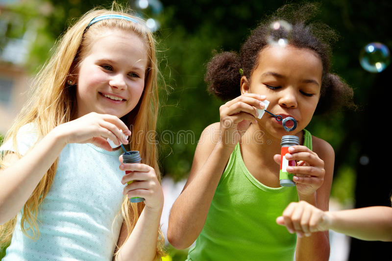 Download Bubble fun stock image. Image of lifestyle, children - 14861009