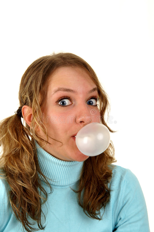 Bubble gum royalty free stock photography