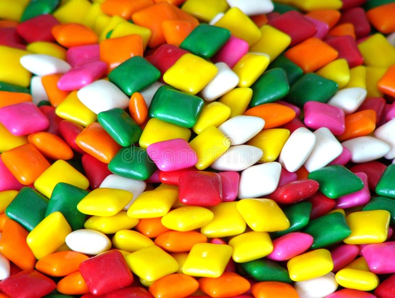 Download Bubble Gum Squares Royalty Free Stock Photos - Image: 63248