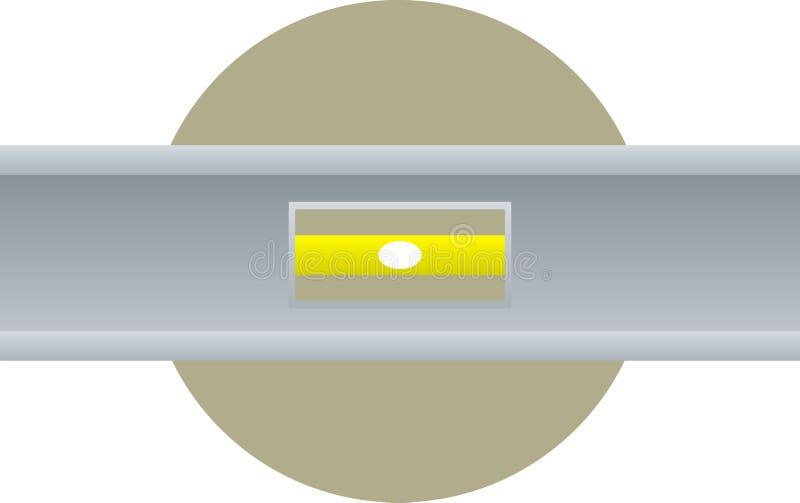 Download Bubble Level Straight Edge Tool Stock Illustration - Image: 12711432