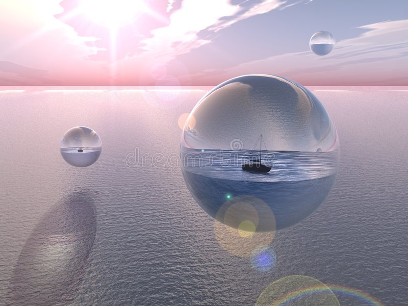 Download Bubble Oceans stock illustration. Image of encapsulate - 904790