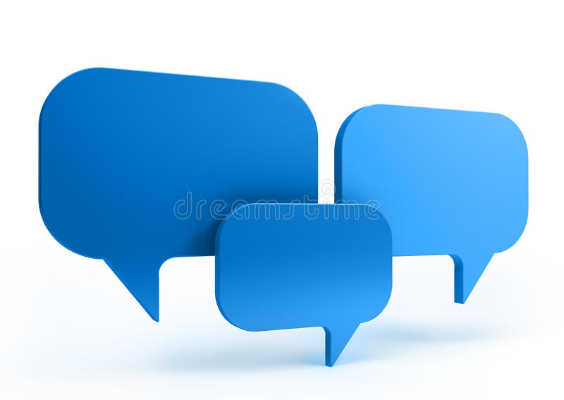 Download Bubble talk stock illustration. Image of balloon, expression - 18763466