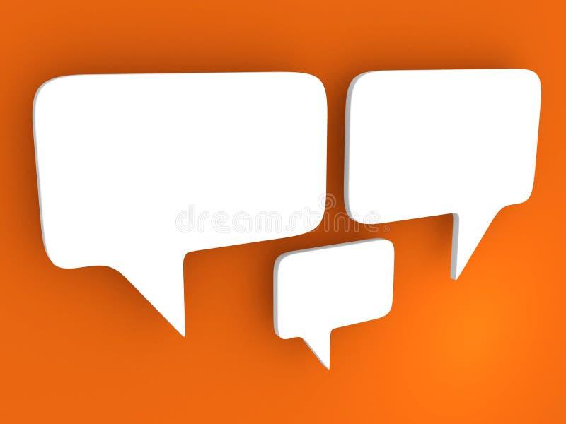 Download Bubble talk stock illustration. Image of shape, comic - 21029911