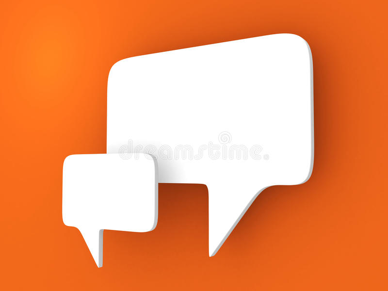 Download Bubble talk. stock illustration. Image of information - 21029915