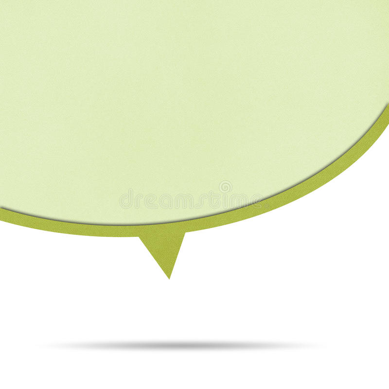 Download Bubble Talk Origami Recycled Paper. Stock Image - Image: 27911269