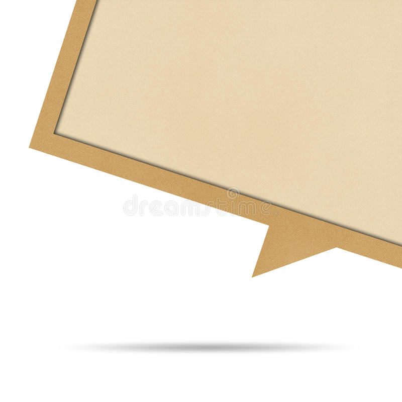 Download Bubble Talk Origami Recycled Paper. Royalty Free Stock Photo - Image: 27913965