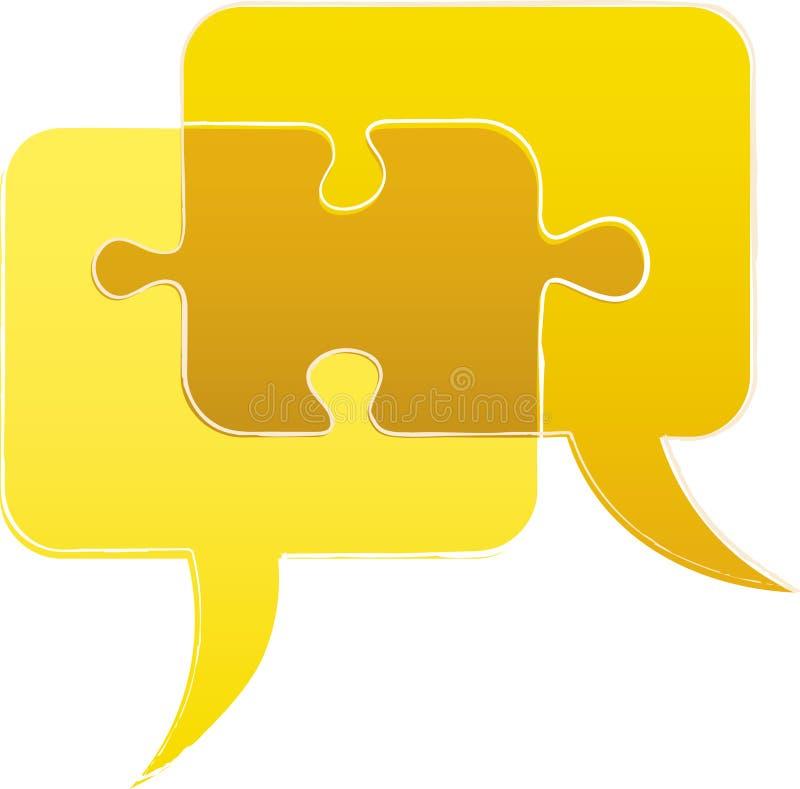 Bubble talk puzzle