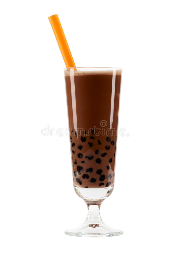 Bubble Tea Brown Stock Photography