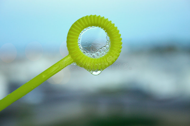 Download Bubble wand stock photo. Image of outside, weightless, suds - 135574
