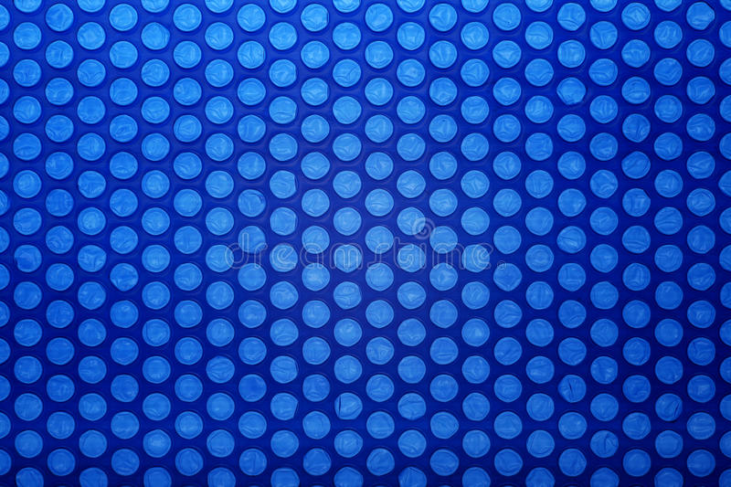 Bubble wrap. Blue bubble wrap pattern background stock photos