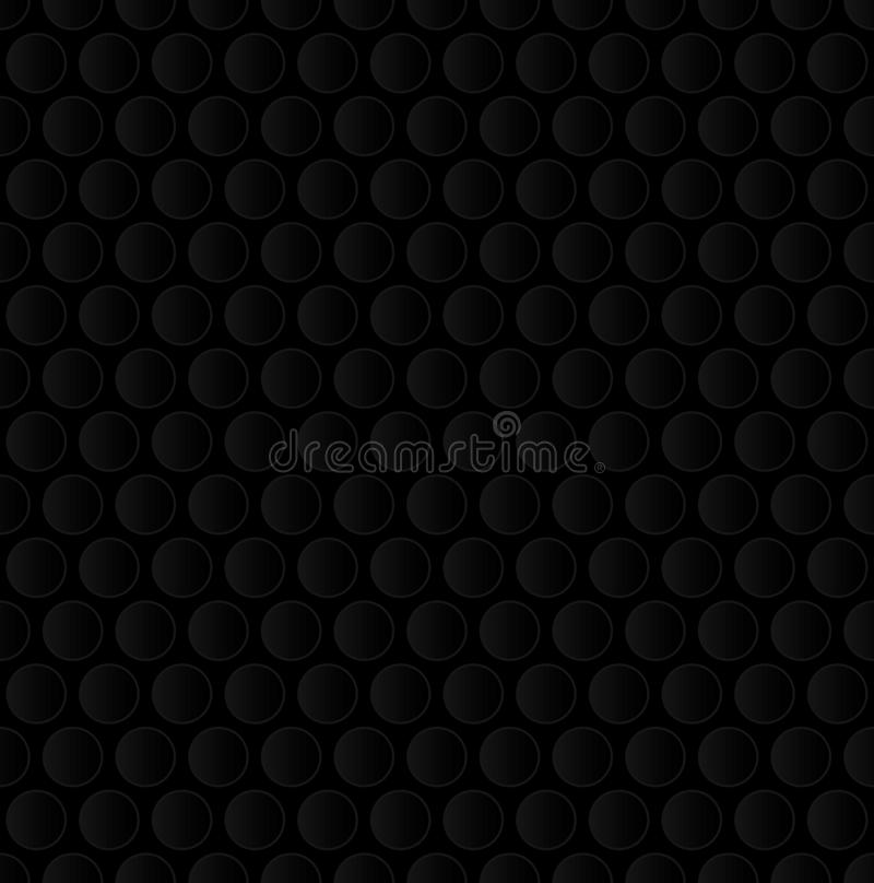 Free Bubble Wrap. Black Neutral Seamless Pattern For Modern Design In Royalty Free Stock Images - 81917629