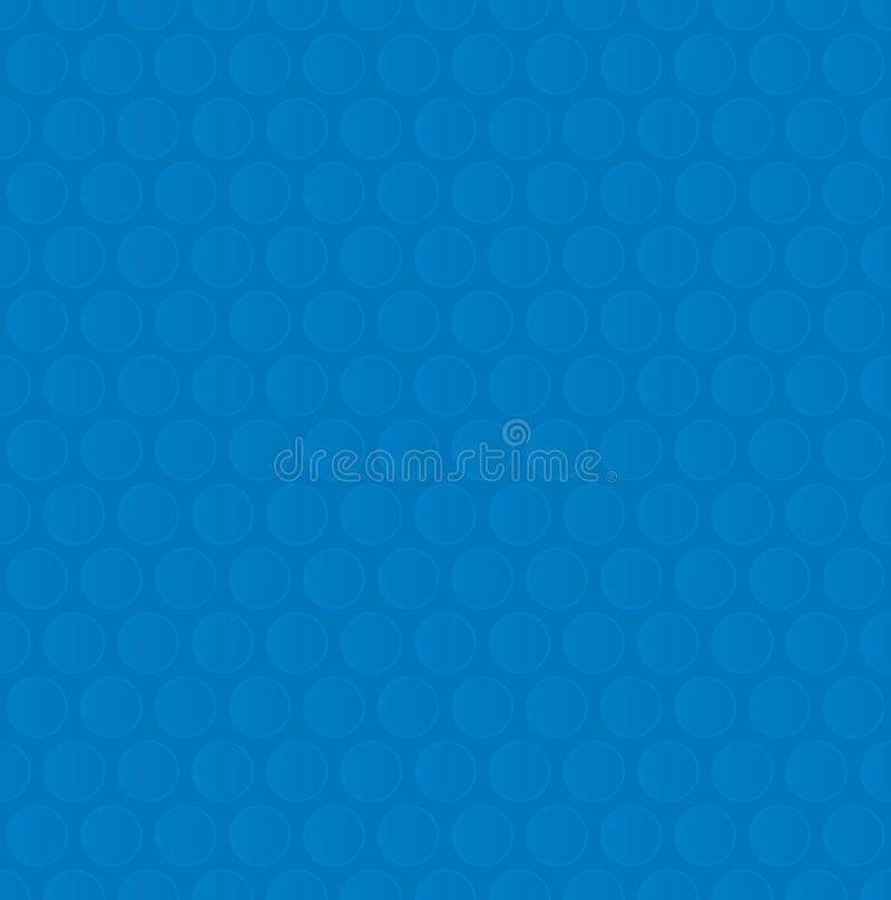 Free Bubble Wrap. Blue Neutral Seamless Pattern For Modern Design In Stock Photography - 81921542