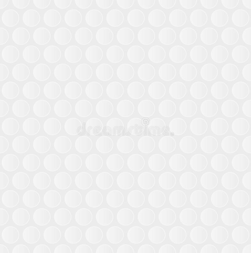 Free Bubble Wrap. White Neutral Seamless Pattern For Modern Design In Royalty Free Stock Images - 81917539