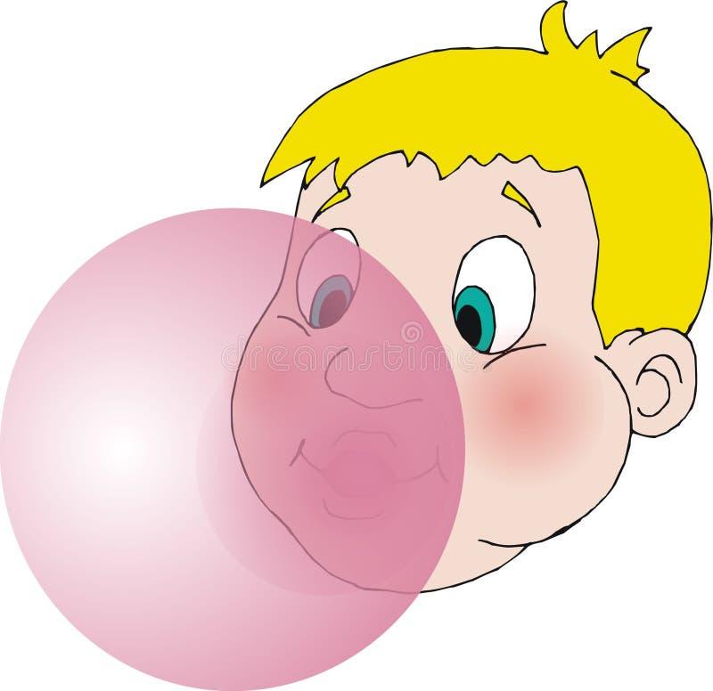 bubblegum royaltyfria bilder